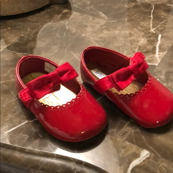 Baby Deer Red Patent Leather Shoes